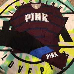 Victoria secret pink set large